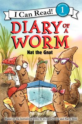 Diary of a worm : Nat the gnat  image cover