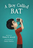 A Boy Called Bat cover