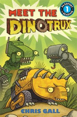 Meet the Dinotrux  image cover