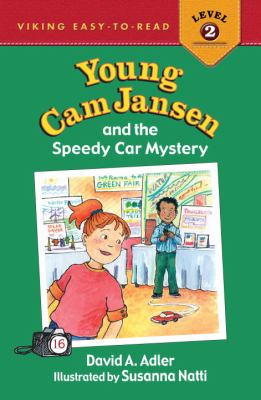 Young Cam Jansen and the speedy car mystery  image cover