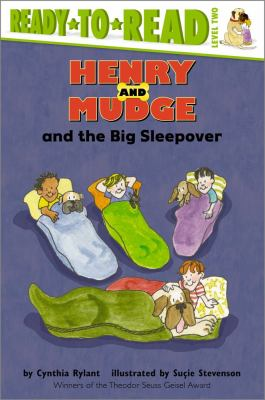 Henry and Mudge and the big sleepover : the twenty-eighth book of their adventures  image cover