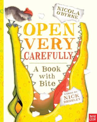 Open Very Carefully cover