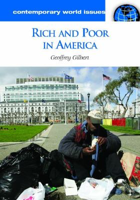 rich and poor in America book cover image