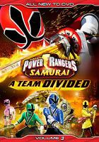 Power rangers samurai: a team divided