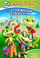 Leapfrog the letter machine rescue team