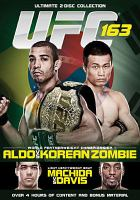 UFC 163. Jose Aldo vs Korean Zombie.