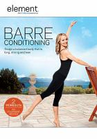 Barre conditioning.