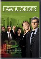 Law & order. The thirteenth year, 2002-2003 season