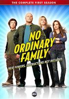 No ordinary family. The complete first season