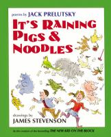It's raining pigs & noodles : poems