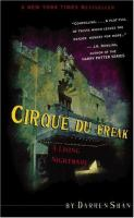 Cirque du Freak :  the saga of Darren Shan