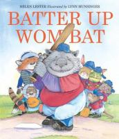 Batter up Wombat