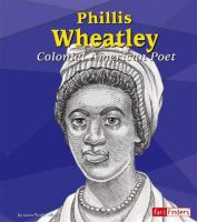 Phillis Wheatley :  colonial American poet