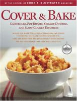 Cover & bake : a Best recipe classic