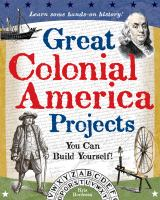 Great Colonial American projects :  you can build yourself!