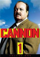 Cannon. Season one, Volume one