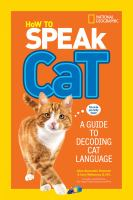 How to speak cat : a guide to decoding cat language