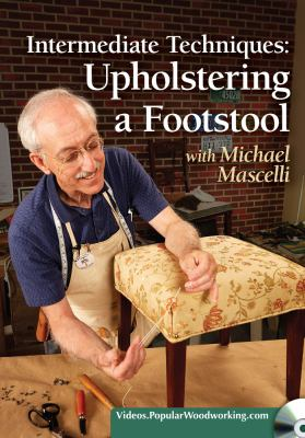 Intermediate techniques : upholstering a footstool