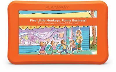 Five little monkeys : funny business! English language arts.