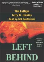Left behind [a novel of the earth's last days]