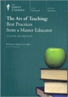 The art of teaching best practices from a master educator