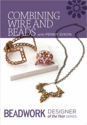 Combining wire and beads.