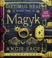Septimus heap book 1 - magyk