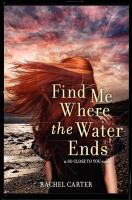 Find me where the water ends : a So close to you novel