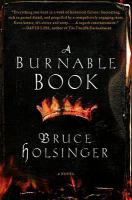 A burnable book : [a novel]
