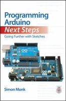 Programming Arduino next steps : going further with sketches