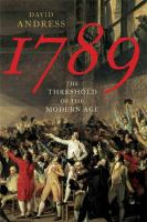 1789 : the threshold of the modern age