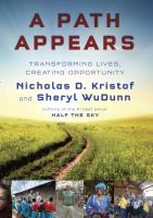 A path appears : transforming lives, creating opportunity