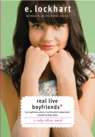 Real live boyfriends : yes, boyfriends, plural, if my life weren't complicated I wouldn't be Ruby Oliver