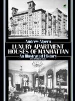 Luxury apartment houses of Manhattan : an illustrated history