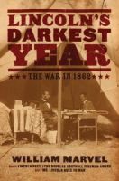 Lincoln's darkest year :   the war in 1862