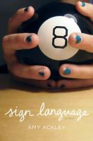 Sign language : a novel