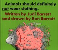 Animals should definitely not wear clothing.