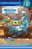 Monsters University. Scaring lessons