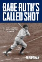 Babe Ruth's called shot