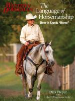 The language of horsemanship : how to speak