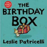 The birthday box :   happy birthday to me!