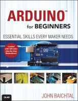 Arduino for beginners : essential skills every maker needs