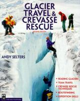 Glacier travel & crevasse rescue