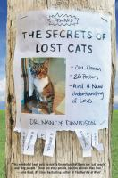 The secrets of lost cats : one woman, twenty posters, and a new understanding of love