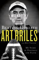 Beating Goliath : My Story of Football and Faith