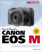 David Busch's Canon EOS-M guide to digital photography