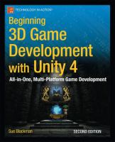 Beginning 3D Game Development With Unity 4:  : All-in-One, Multi-Platform Game Development