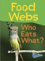 Food webs : who eats what?