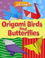 Origami birds and butterflies