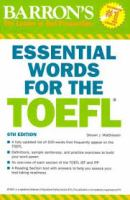 Barron's essential words for the TOEFL : test of English as a foreign language